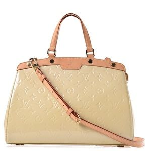 {Louis Vuitton} Corail Vernis Brea MM Bag